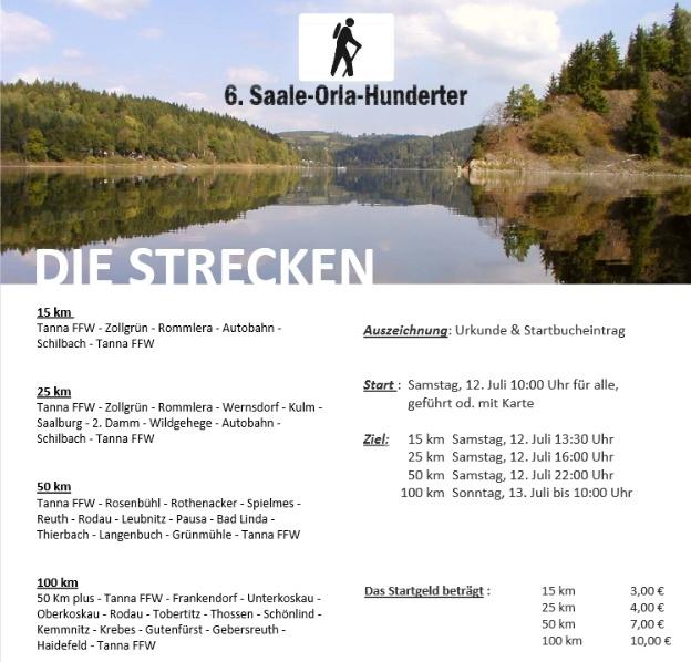 Saale-Orla-Hunderter (D), 100km : 12-13 juillet 2014 Saale-11