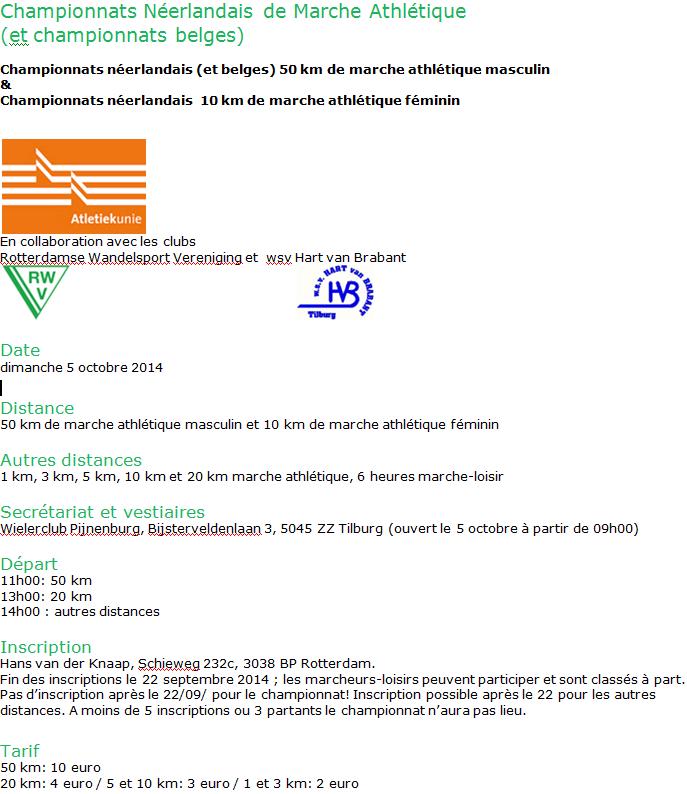 50km chpt NL&B, 20km, 6h, etc., Tilburg (NL) 5 octobre 2014  Tilbur10