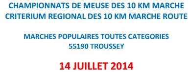 Chpt de Meuse; 10 km à  Troussey (55): 14 juillet 2014 Trouss10