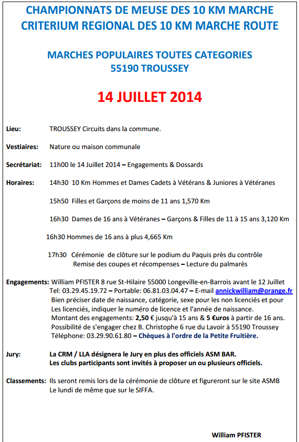 Chpt de Meuse; 10 km à  Troussey (55): 14 juillet 2014 Trouss11