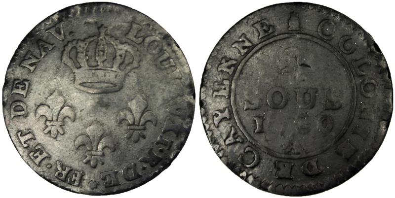 Un nouveau roi Louis VXI  2sous110