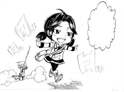 Fairy Tail Zero : les origines dans un magazine mensuel au Japon 0524a10