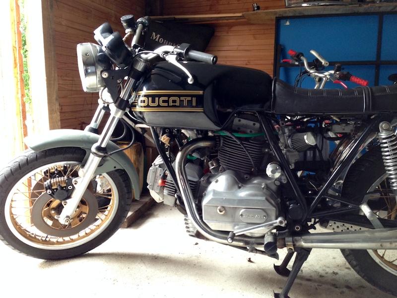 Ducat' 750 et 860 Coniques Photo-11