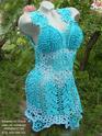 """Голубое ажурное платье """"Принцесса в голубом"""" Ddddnd11"""