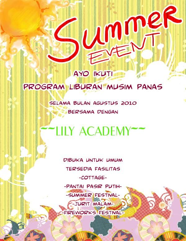 August Announcement Summer10
