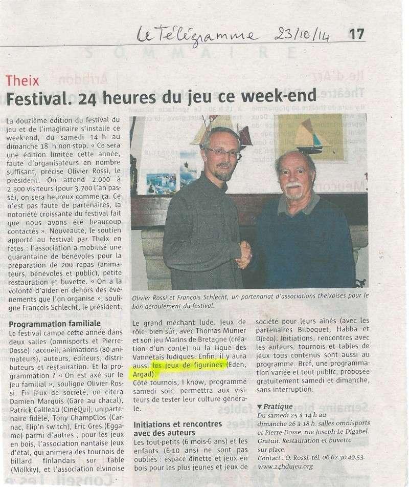 « 24 h du jeu », Theix (56) les 25-26 octobre 2014 - Page 2 Theix10