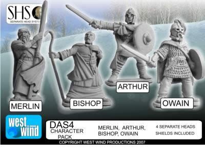 "Figurine ""Arthurians"" chez West Wind Ww_art10"
