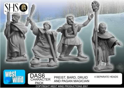 "Figurine ""Arthurians"" chez West Wind Ww_dru10"