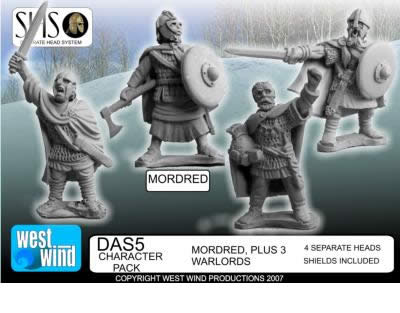 "Figurine ""Arthurians"" chez West Wind Ww_mor10"