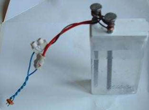 Purification / Désinfection de l'eau par Electrolyse : synthèse d'hypochlorite - javel Image014