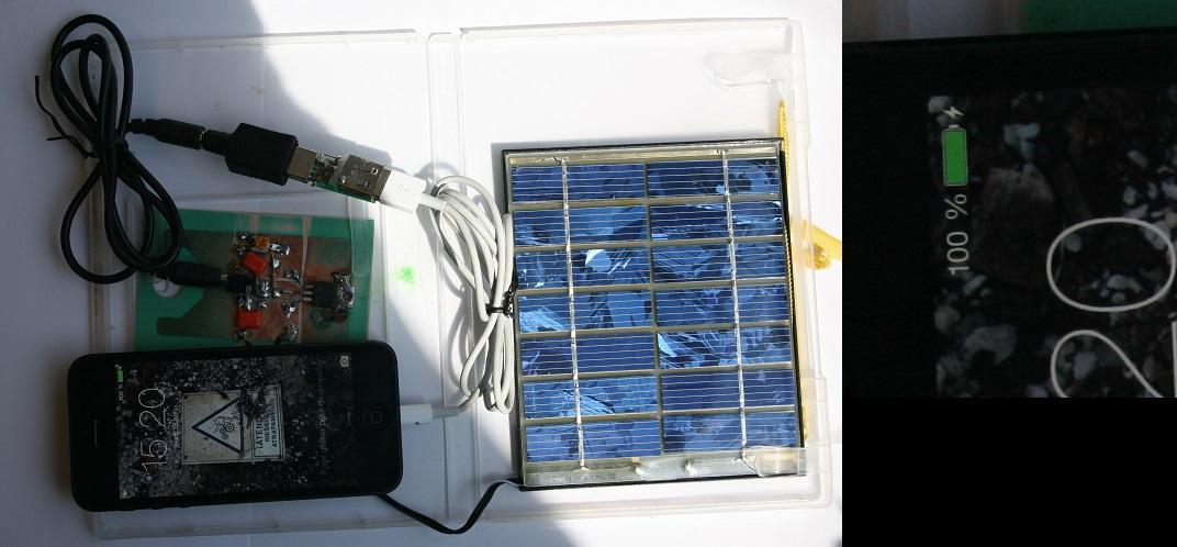 Adaptateur DIY pour Smartphone Solair10