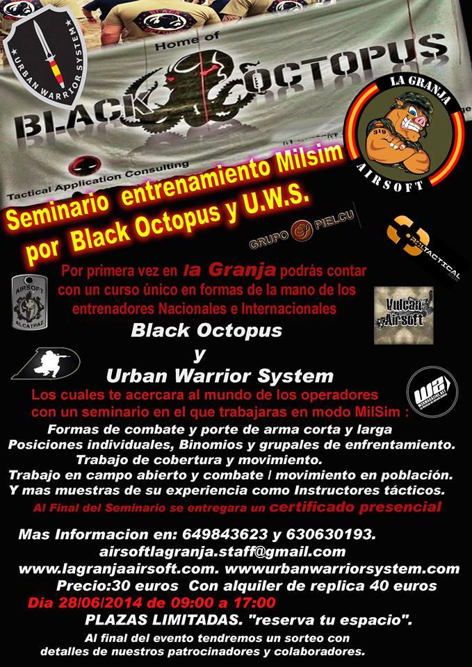 28/06/14 Curso de trabajo táctico,asalto por binomio,rescate y extracción - Impartido por Black Octopus y UWS Blacko11