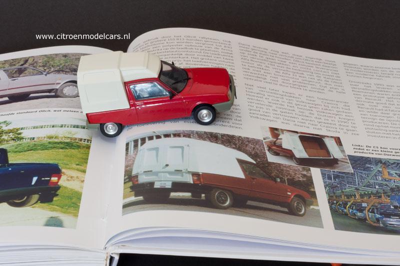 """La dernière """"vraie Citroën"""" ou l'art d'accommoder les restes ! Oltena10"""