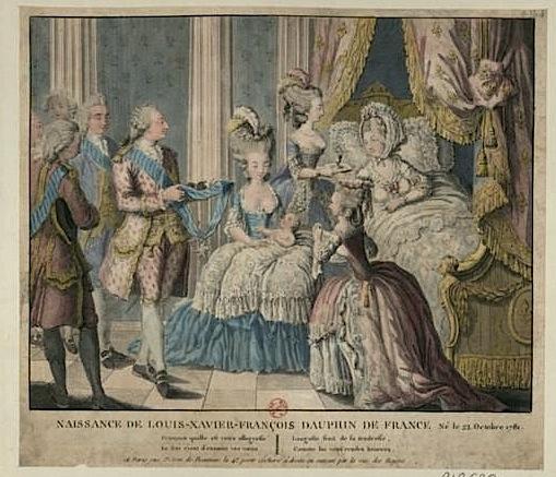 Naissances illustrées des enfants de Marie-Antoinette  Naissa10