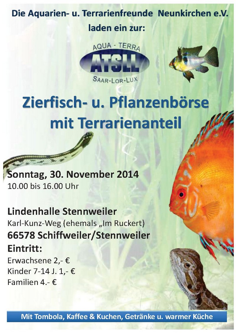 Bourse SAAR LOR LUX à Schiffweiler (DE) 30 novembre 2014 Rb201410