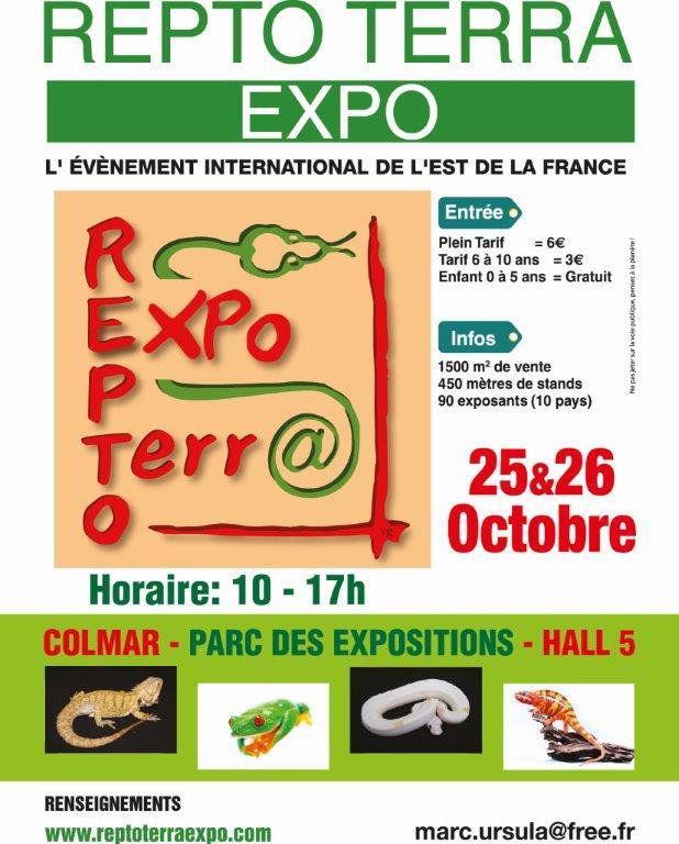 REPTO TERRA EXPO - 25 et 26 octobre 2014 - COLMAR Repto_10