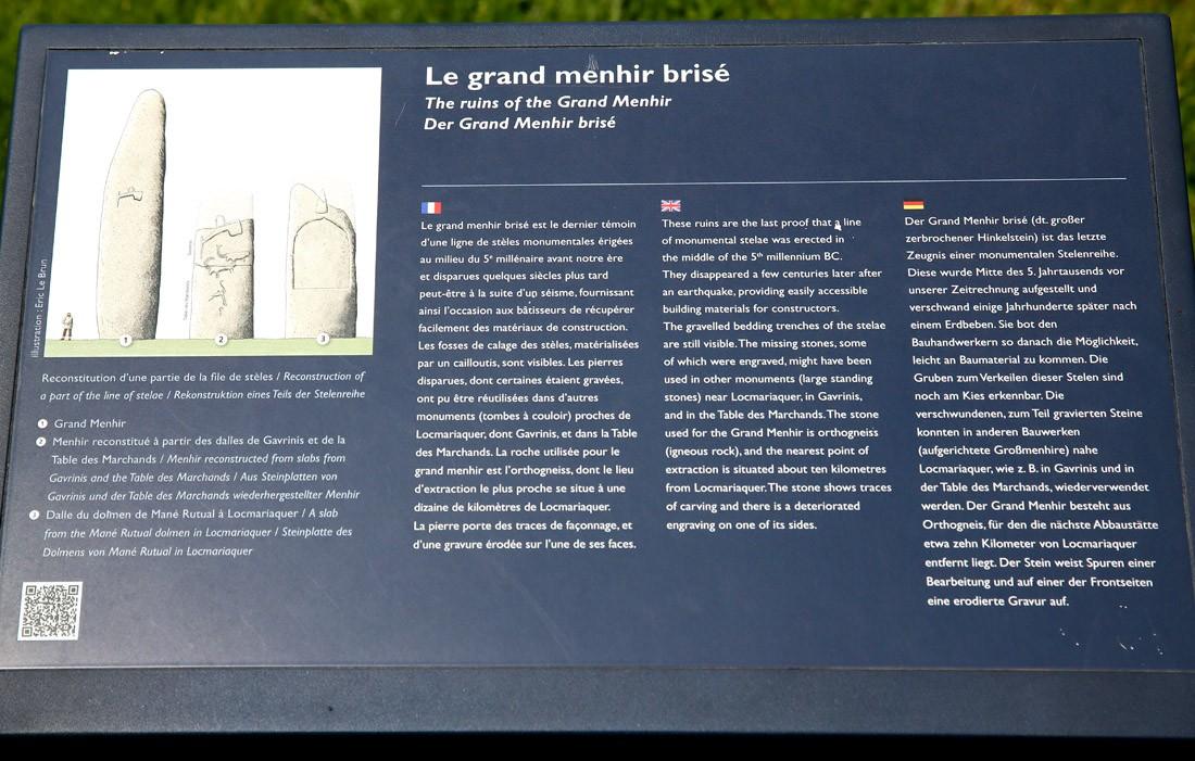 Les sites mégalithiques de Locmariaquer Table_13