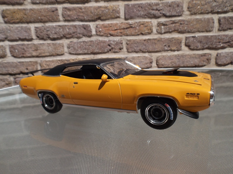 Plymouth GTX 1971 bahama Yellow. [smarties color : 1 - HOT STUFF-] Maquet16