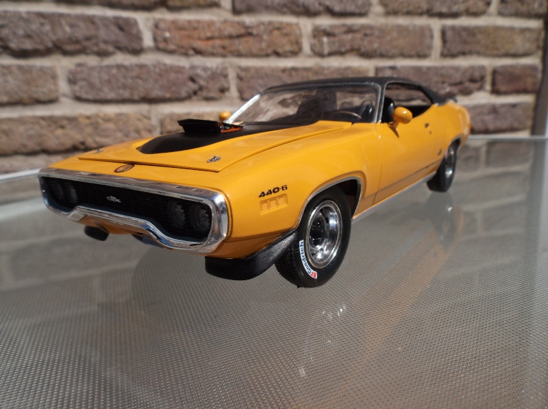 Plymouth GTX 1971 bahama Yellow. [smarties color : 1 - HOT STUFF-] Maquet18