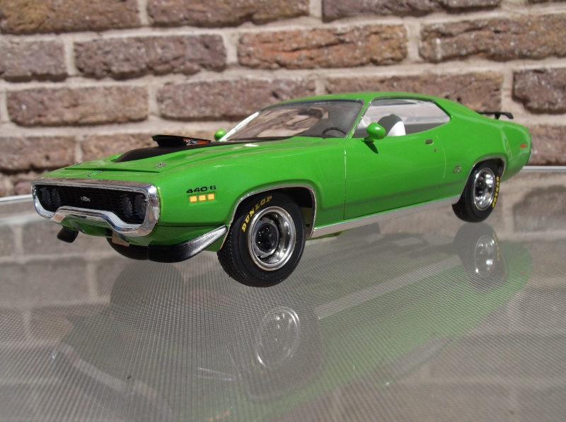 Plymouth GTX 1971 Sassy Green [Smarties Color : 2 -COLD-STUFF] Maquet24
