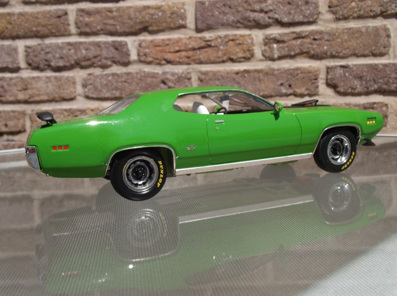 Plymouth GTX 1971 Sassy Green [Smarties Color : 2 -COLD-STUFF] Maquet25
