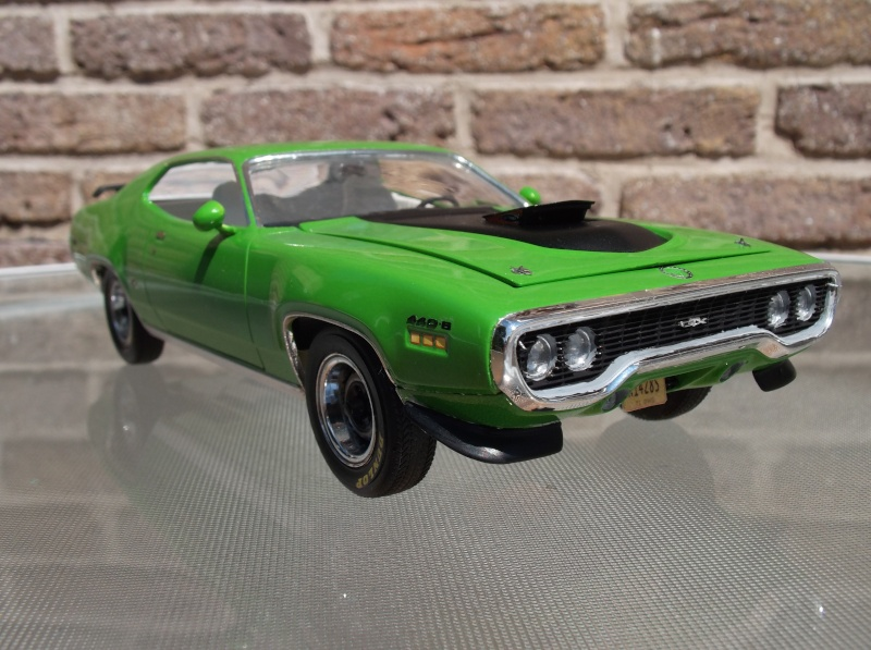 Plymouth GTX 1971 Sassy Green [Smarties Color : 2 -COLD-STUFF] Maquet28