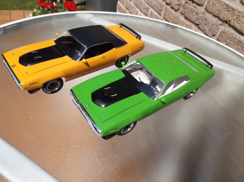 Plymouth GTX 1971 Sassy Green [Smarties Color : 2 -COLD-STUFF] Maquet32