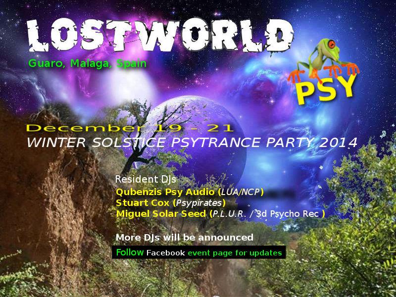 LOSTWORLD PSY :: WINTER SOLSTICE PARTY 2014 [SPAIN] Lostwo10