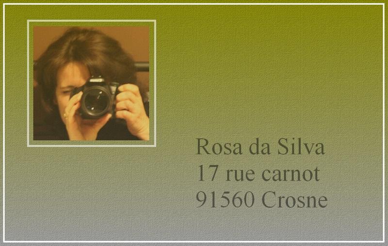 Créer une carte de visite Rosa_b10
