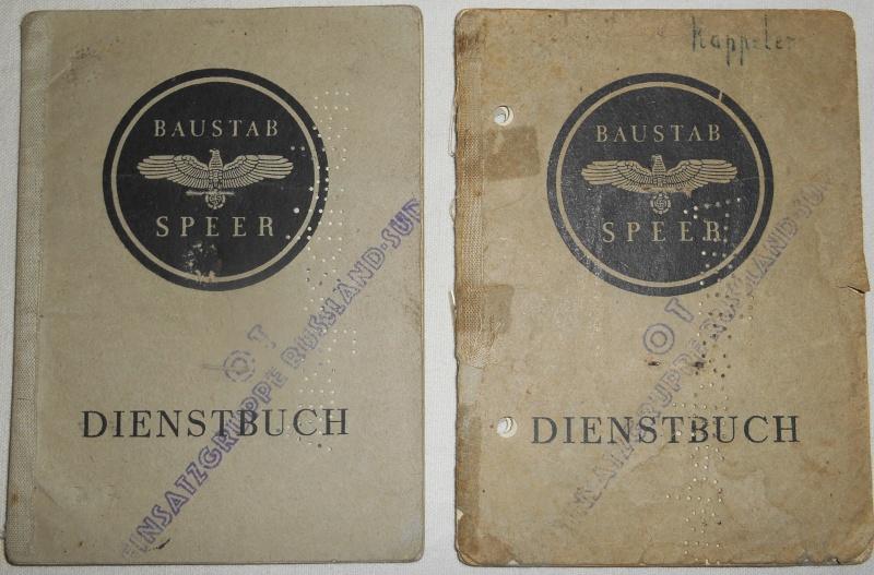 Vos livrets militaires allemands WWII (Soldbuch, Wehrpass..) / Heer-LW-KM-SS... 00321