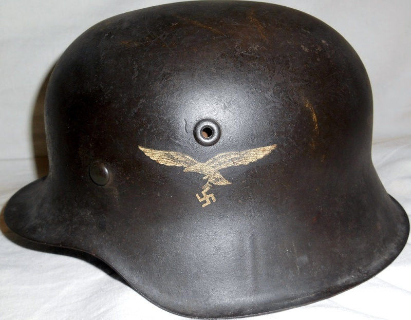 """HJ-LuftwaffenHelfer Stahlhelm"" (1942-1945) 025"