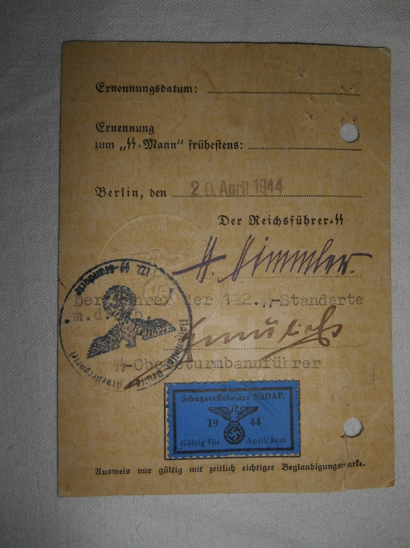 Ausweis SS 2210