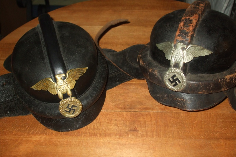 casque moto cuir identification Photo138