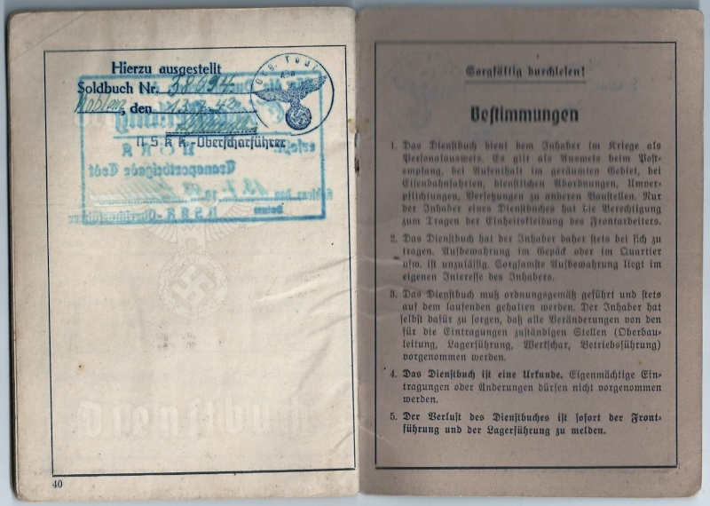 Vos livrets militaires allemands WWII (Soldbuch, Wehrpass..) / Heer-LW-KM-SS... Scan0034