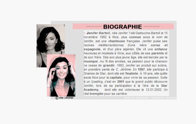 Biographie de Jenifer Biogra10