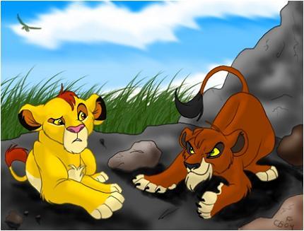 ~Le clan de Simba et Nala~les lions~ Mufasa10