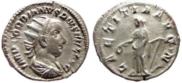Antoninien de Gordien III quelle émission? Gordie10