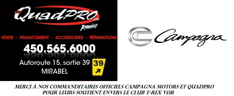 Nos Commanditaires Officiels