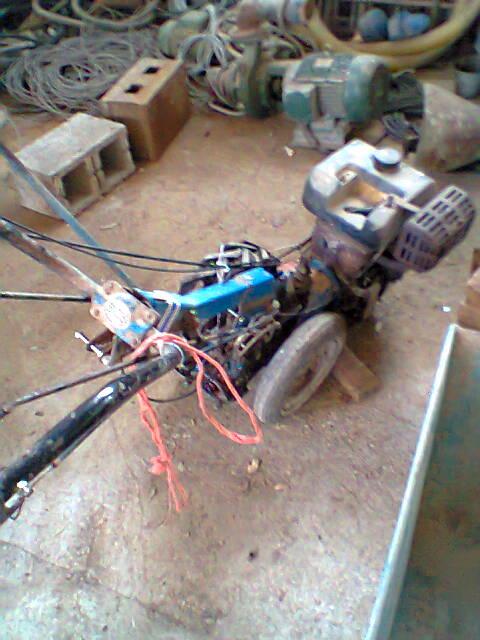 Motofalciatrice BCS con motore Acme, trasformazione!! Foto0010