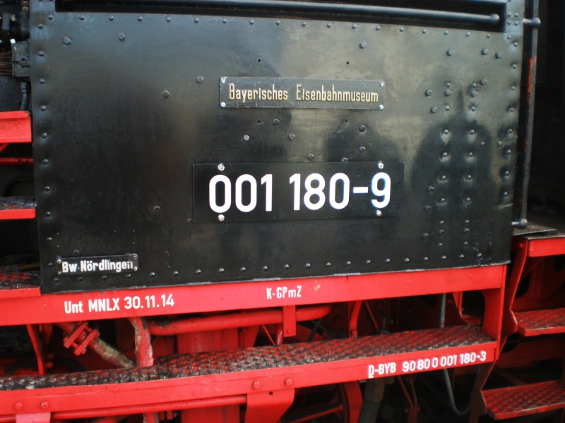 Lok 01 180 unter Dampf 01_18018