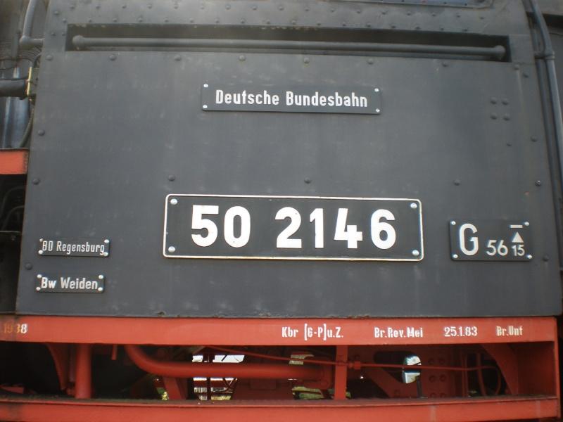 Dampflok 50 2146 in Weiden 50_21415