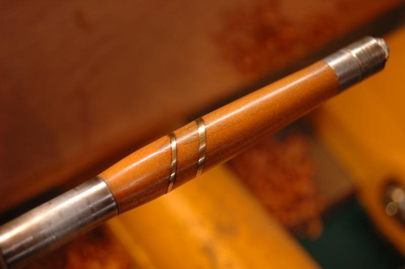 [Pas à pas vidéo] Tournage de stylos déco noeud celtique et anneaux Stylo_13
