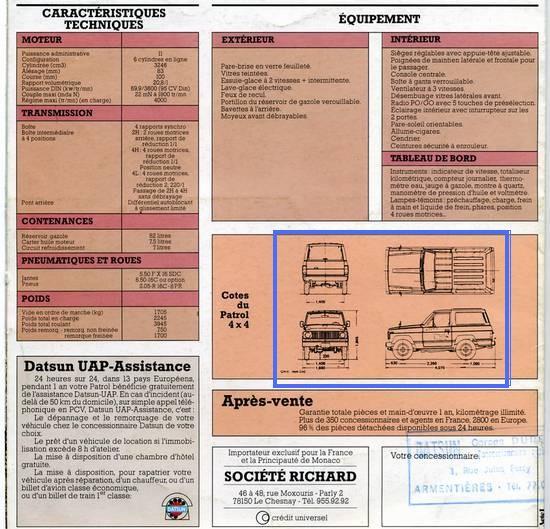Besoin de votre avis , futur projet Nissan PATROL baroud 4b106f10