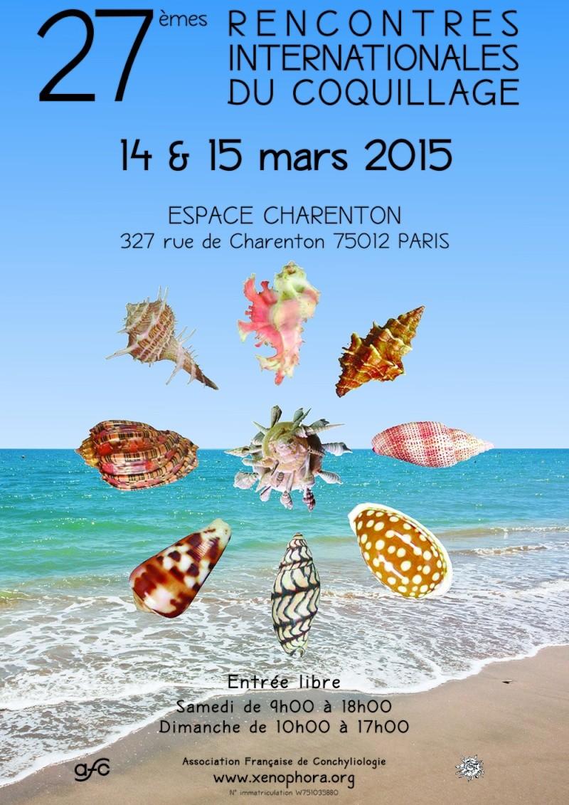 2015 Bourse internationale de Paris - 14 & 15 mars Affich10