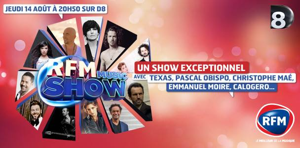 RFM Music Show (14/08/14) Montag10
