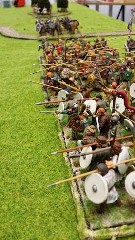 Bataille WAB Age of Arthur saxons contre bretons T1_lig10