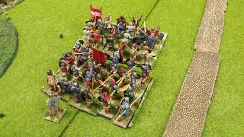 Bataille WAB Age of Arthur saxons contre bretons T3_com10