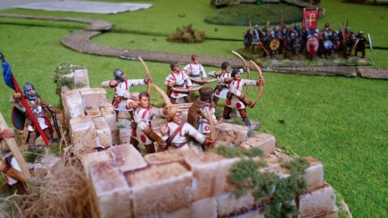 Bataille WAB Age of Arthur saxons contre bretons T4_arc10