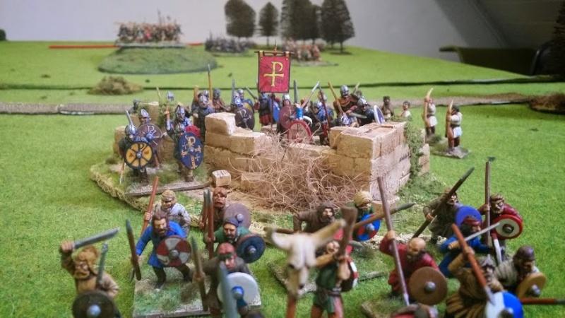 Bataille WAB Age of Arthur saxons contre bretons T5_com10