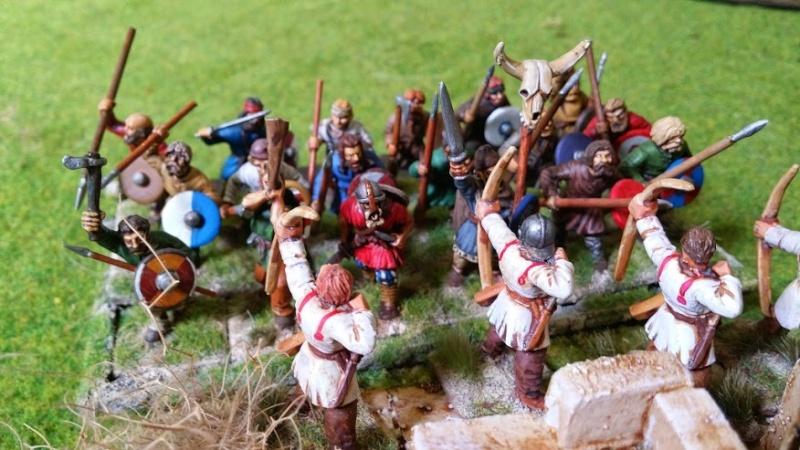 Bataille WAB Age of Arthur saxons contre bretons T5_les10